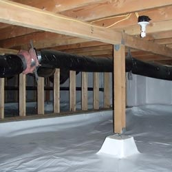 an encapsulated crawl space in Mesa