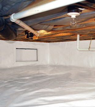 crawl space repair system in Gunnison
