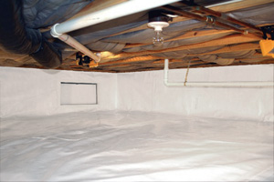 Crawl Space Repair After in Montrose