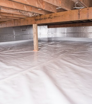 Installed Crawl E Insulation In Austin