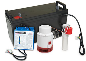 a battery backup sump pump system in Crested Butte