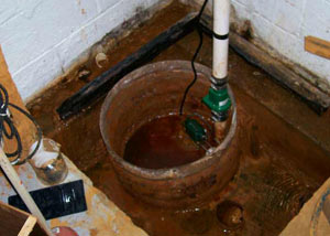 Extreme clogging and rust in a Crested Butte sump pump system